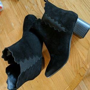 Black Lane Bryant boots